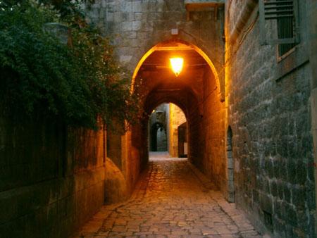 شوارع حلب القديمة