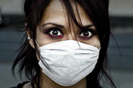 رعب  أنفلونزا إتش-1-إن-1 ، تصوير Sir Sabbhat  من فليكر.